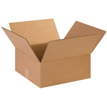 "14 x 14 x 6"" Flat Corrugated Boxes"