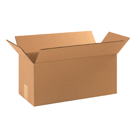 "17 x 8 x 8"" Long Corrugated Boxes"