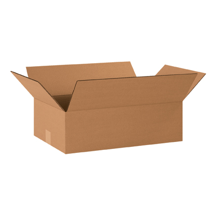 "20 x 12 x 6"" Flat Corrugated Boxes"