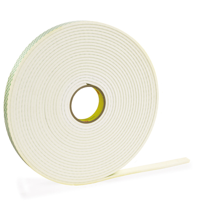 "1"" x 5 yds. 3M 4462 Double Sided Foam Tape"