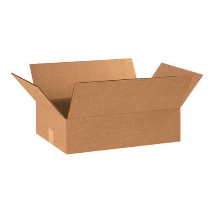 "18 x 13 x 5"" Flat Corrugated Boxes"