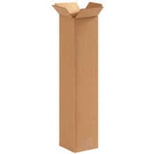 "4 x 4 x 16"" Tall Corrugated Boxes"