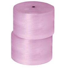 "3/16"" x 24"" x 750' (2) Perforated Anti-Static Air Bubble Rolls"