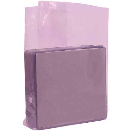 "24 x 10 x 36"" - 2 Mil Anti-Static Gusseted Poly Bags"