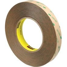 "3/4"" x 60 yds. (3 Pack) 3M 9472LE Adhesive Transfer Tape Hand Rolls"